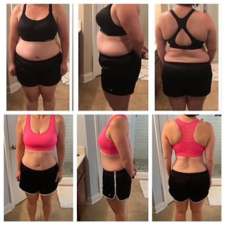 before after michele lakey 2 year transformation body.JPG