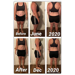 before after Parrish 6 month transformat