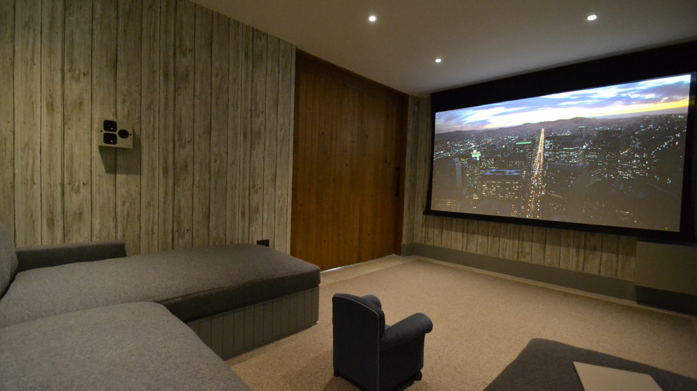 Projector Screen View