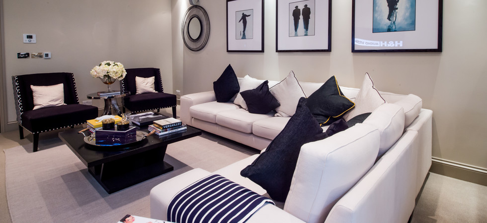 Lutron Lighting Living Room