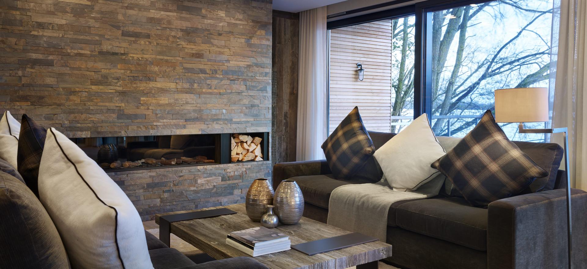 Luxury Living Room Lighting
