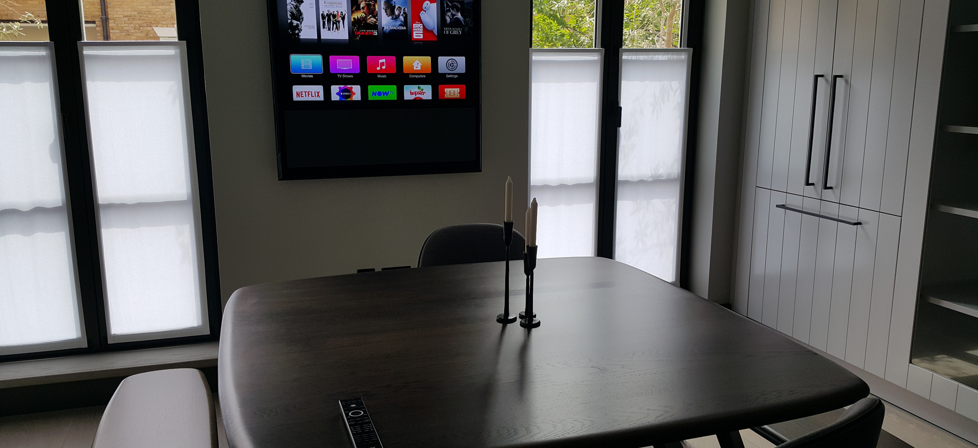 Dining Room Television Wall Mount