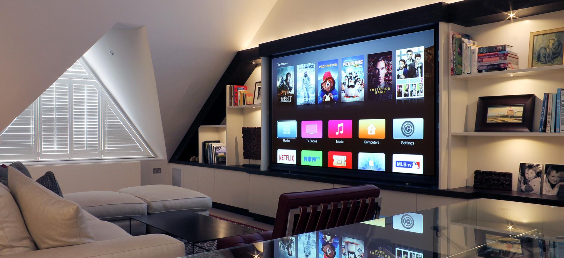 Cedia Award Winning Living Room