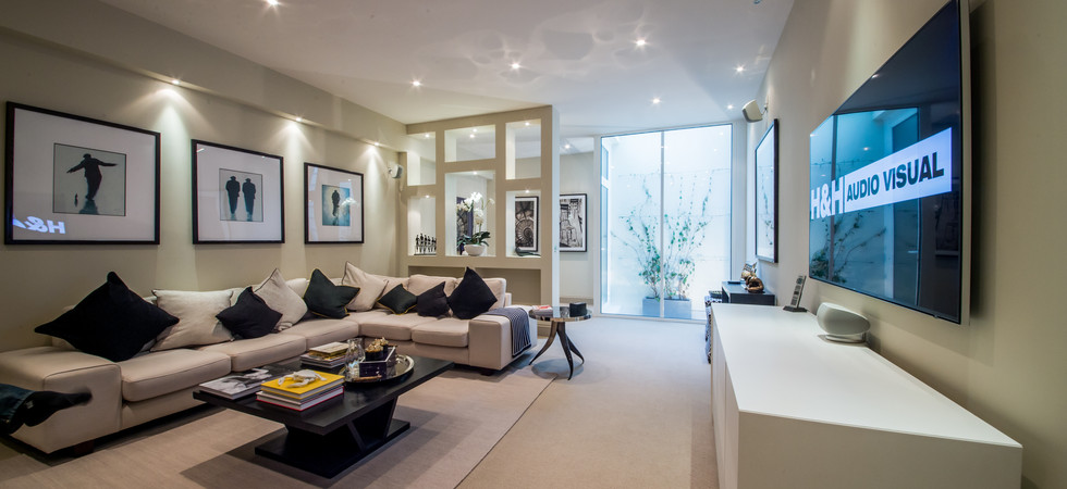 Audio Visual Installation Living room