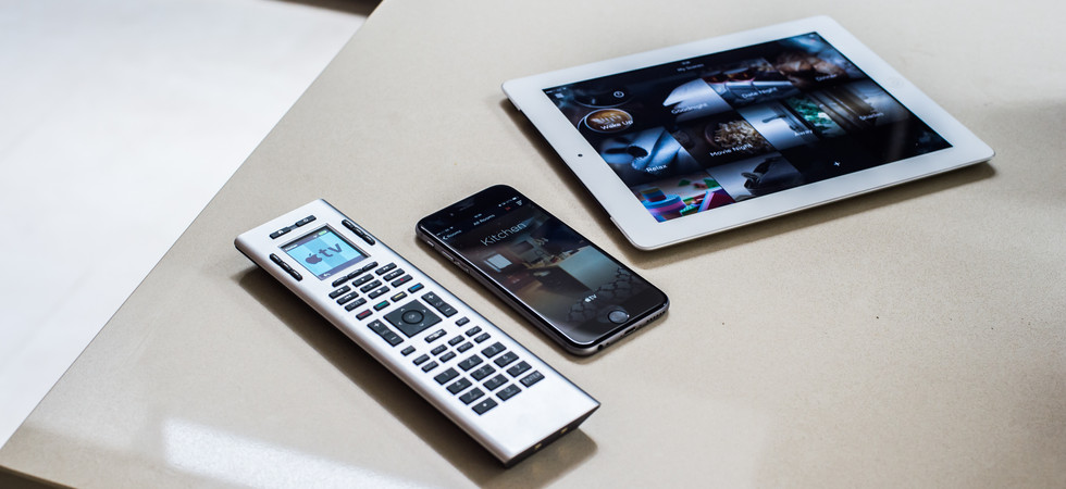 Savant with ipad and remote control