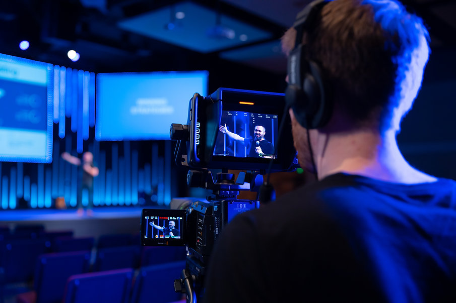Element 7 Productions Cameraman filming corporate live event