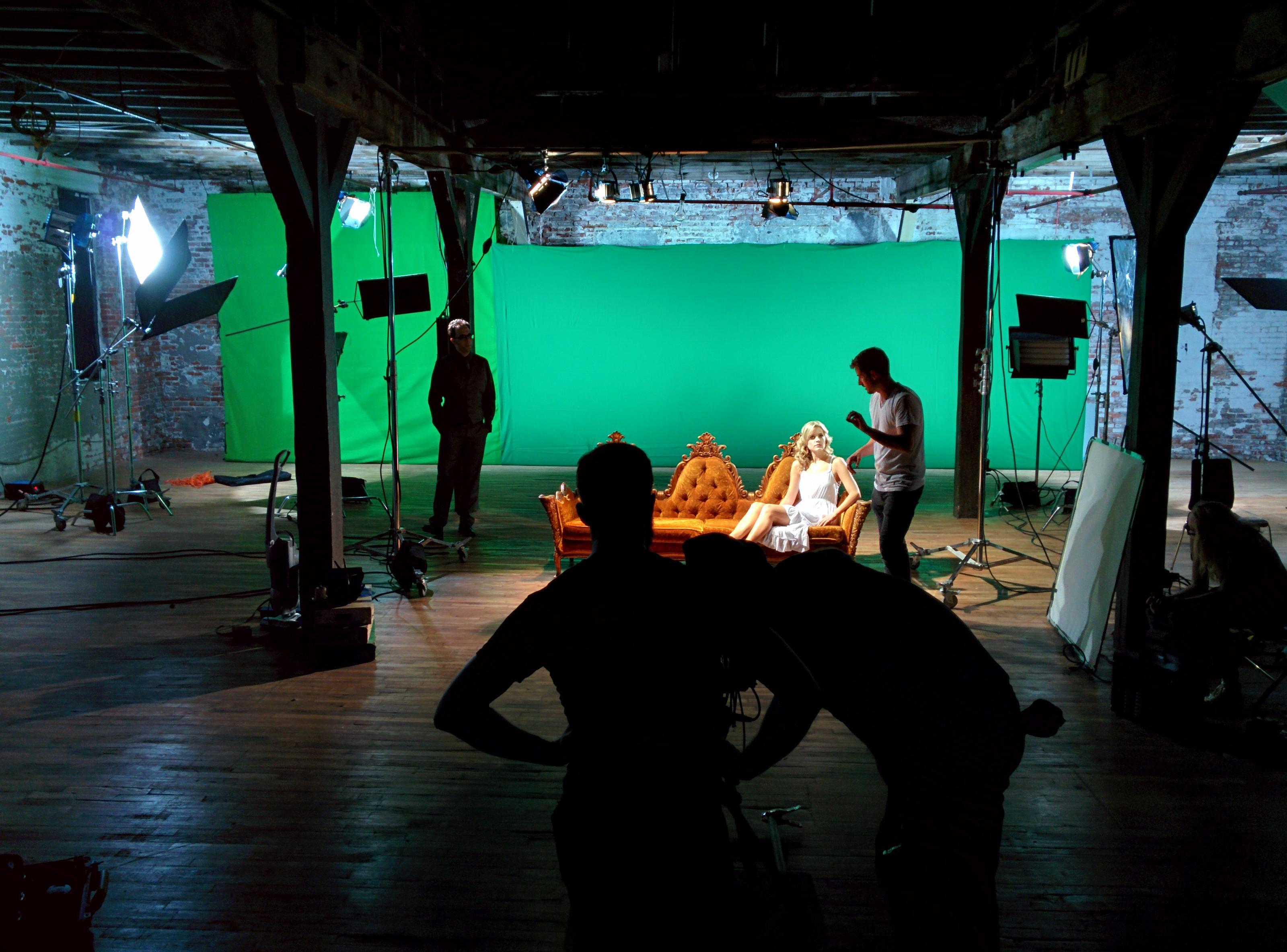 Green Screen Music video