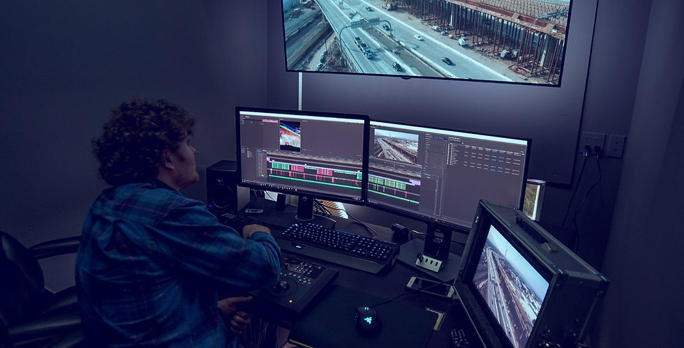 Post Production Video Editing Suite