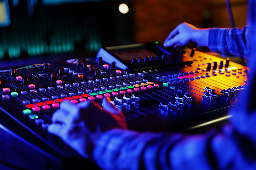 Live Stream Audio Mixer and Operator