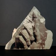 Francesco Amorosino Silver gelatine emulsion on marble