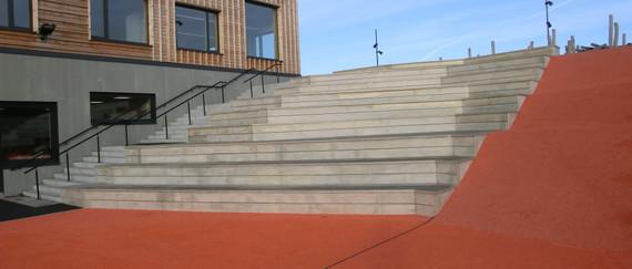 accoya terrasse benker trapp