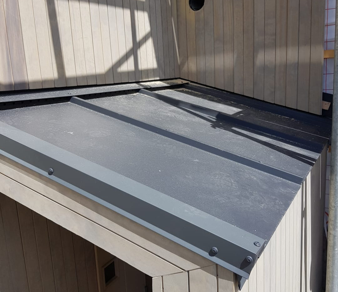 Accoya kledning system 1 patina