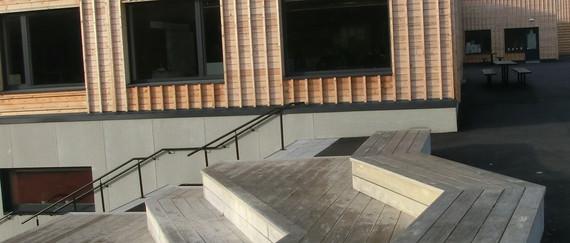 accoya terrasse trapp