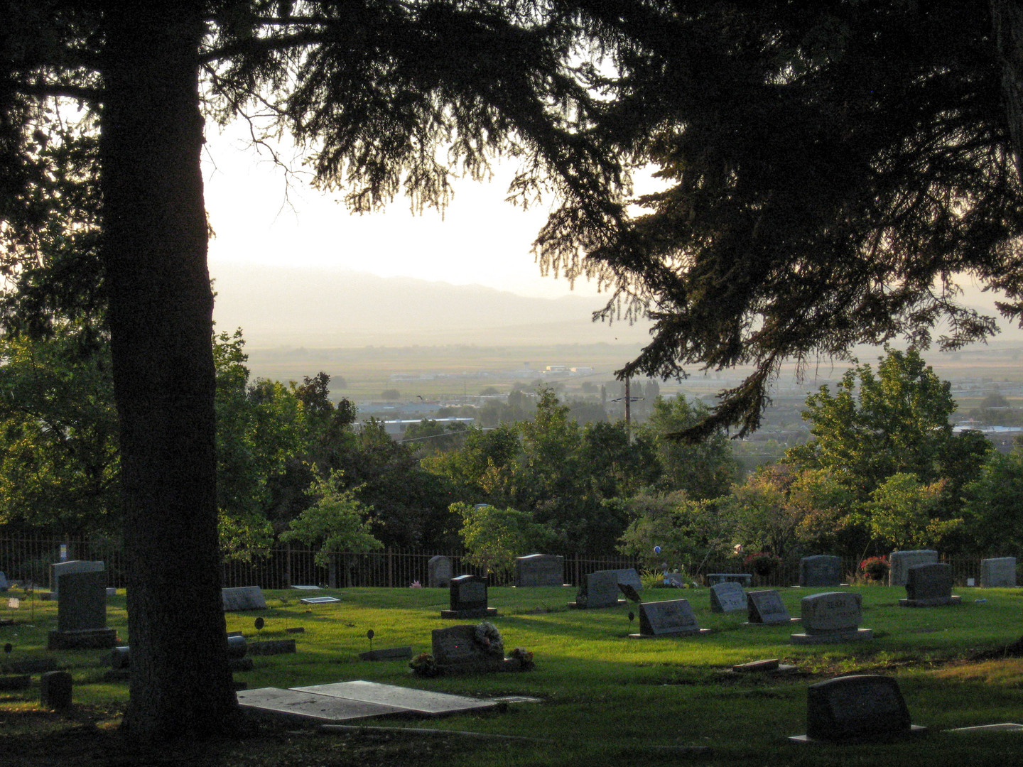 North Logan Cemetary Overlook