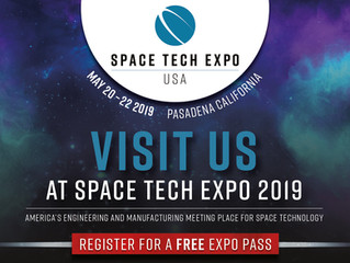 TMT Joins Space Tech Expo 2019