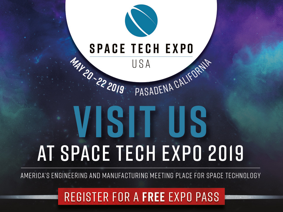 Space Tech Expo 2019 Ad Banner