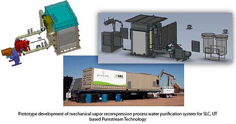 Prototype developmnt of mechanical vapor recompression process