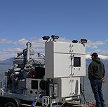 Water purification test on the Great Salt Lake