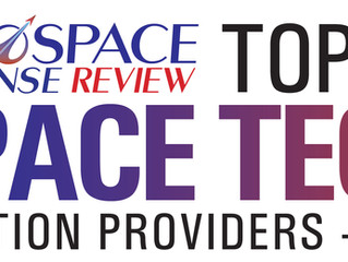 TMT Honored as a Top Ten Space Tech Solution Company
