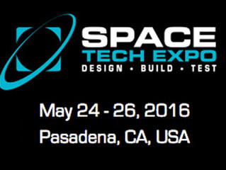See us at the Space Tech Expo 2016
