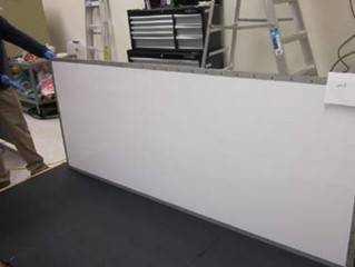 Large (1000 Watt-2.5 m) Isothermal Panel Successfully Demonstrated
