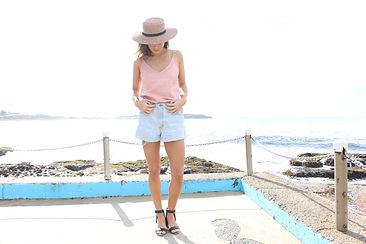 Sarah Jane Knapp Dusky Pink Camisole