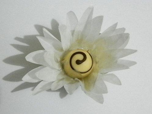 Flor Grama Branca Cx 100 unid.