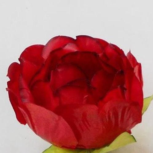 Forminhas Botão Fechado Vermelha - Cx 100 unid. Papel