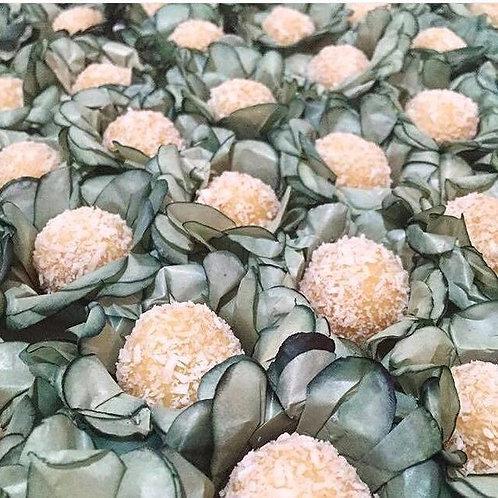 100 Forminhas Delicadinhas Verde Musgo