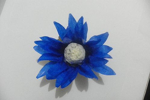 Flor Grama Azul Escuro Cx 100 unid.