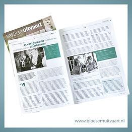 Bloesem Uitvaart interview Vakblad Uitvaart