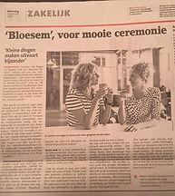 Interview Bloesem Uitvaart Stad Amersfoort