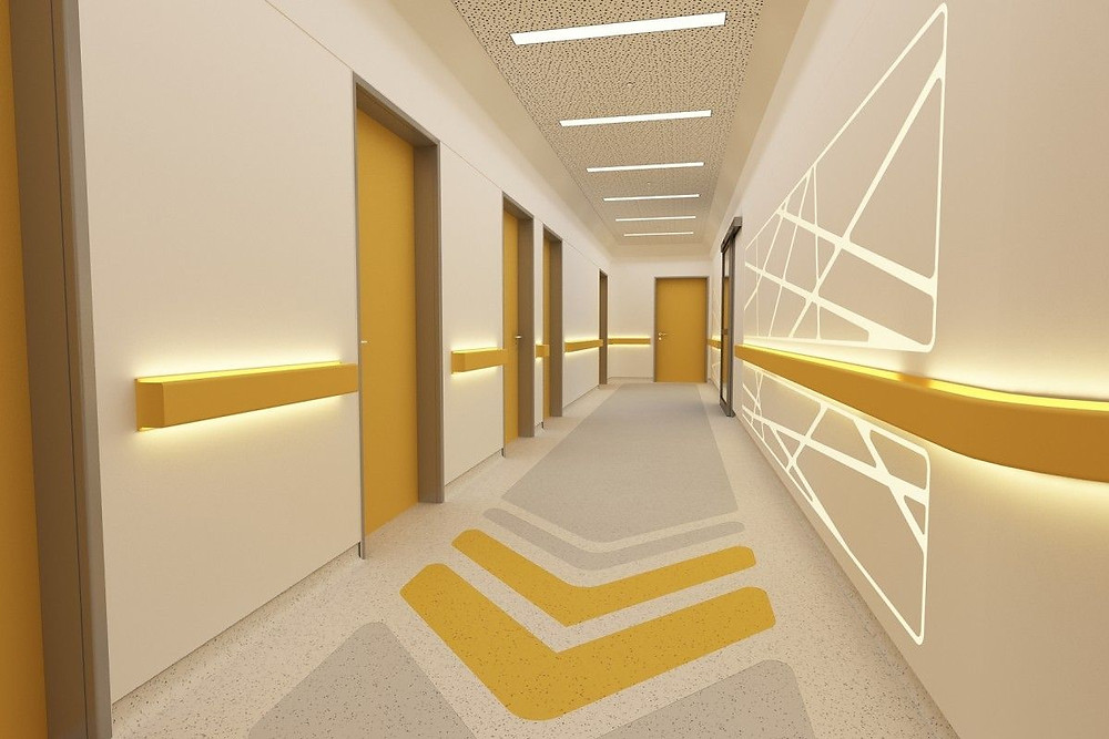 Interior commercial painting in Boston MA