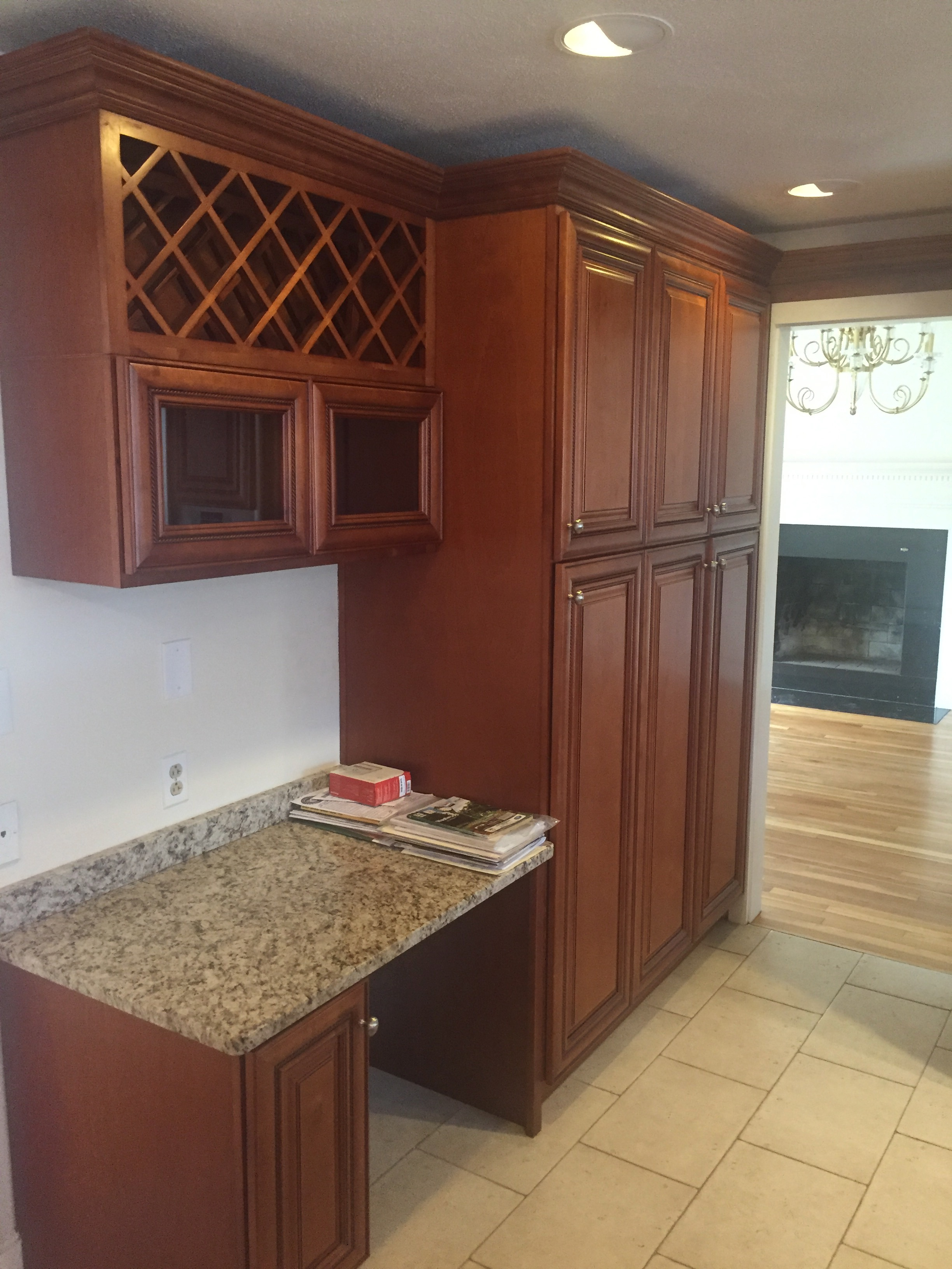 Cabinets done by d'Lanes Painting
