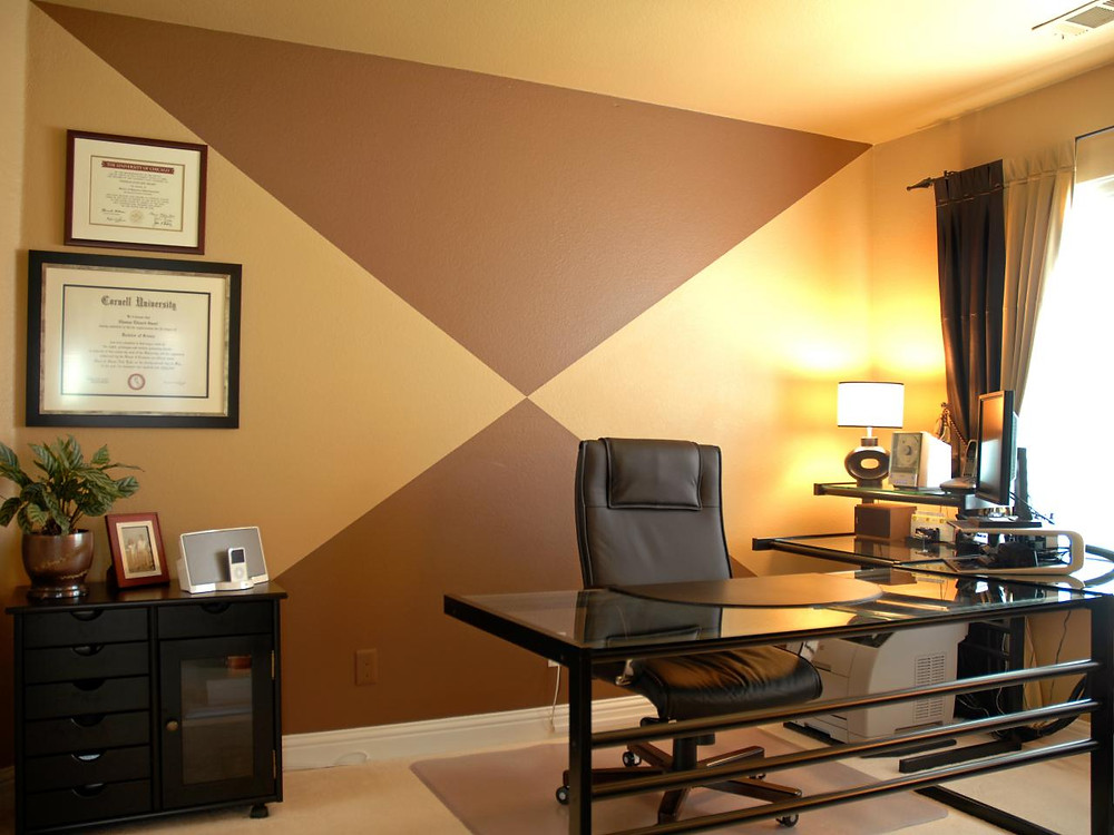 Home office painting in Boston MA