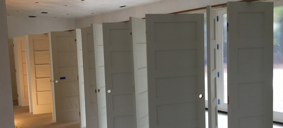 Wellesley interior commercial painting