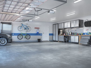 Garage Painting Services-Exterior Painting