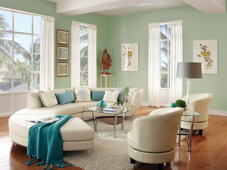 Residential Living Room Painting