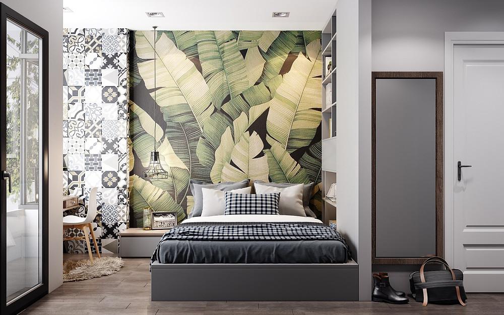 Wallpaper Paper Instalation in Boston