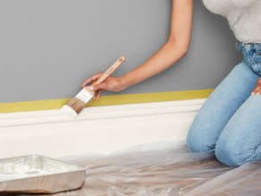 Guide to Paint Baseboards and Moldings