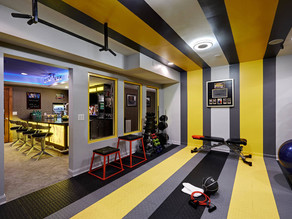 Gym & Fitness Centers Painting Service - Commercial Painting