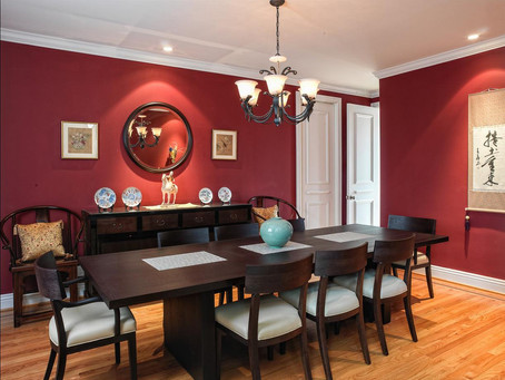 Dining Room Painting-Residential Services