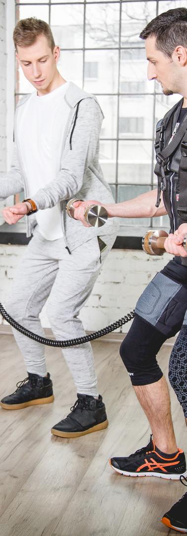 Trening EMS budowa mięśni głebokich!