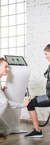 Trening EMS i problem z plecami