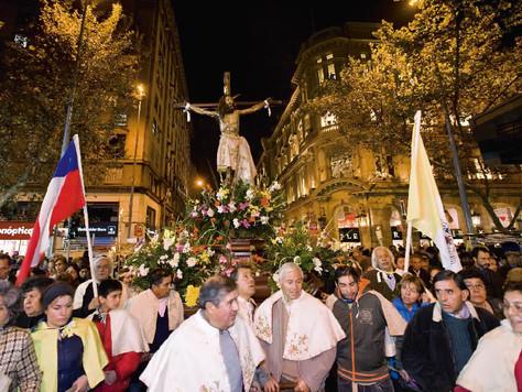 """Oración en verso: """"El Señor de Mayo"""""""