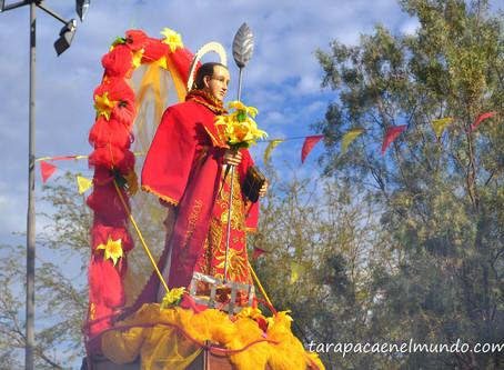 """Celebrando al """"Lolo"""", San Lorenzo de Tarapacá"""