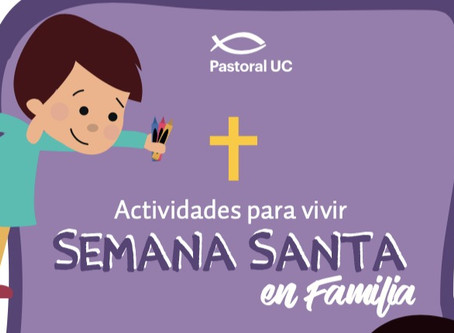 Vivir la Semana Santa en Familia