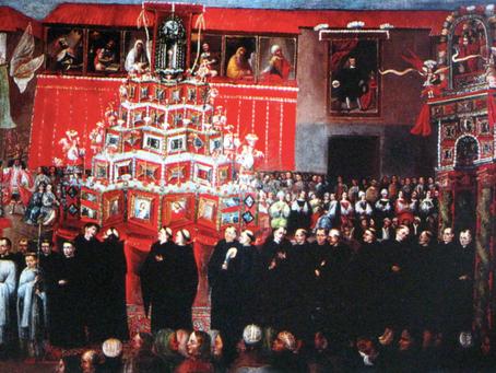 Corpus Christi: La procesión cusqueña en el arte virreinal