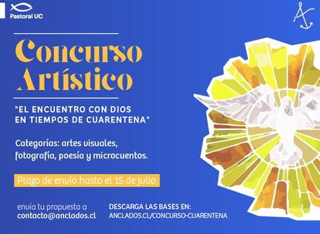 """Concurso  """"El encuentro con Dios en tiempos de cuarentena"""""""