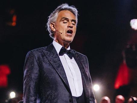 ¡Agéndalo! Andrea Bocelli dará un concierto de Pascua